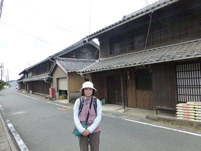 011 古い民家(格子戸)