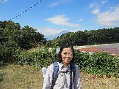29 富士山②(旅で初めての眺望)