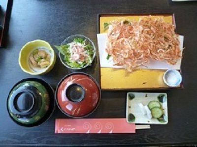 35-⑤ 桜エビかき揚げ定食