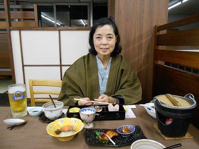179 関ロッジ・夕食②