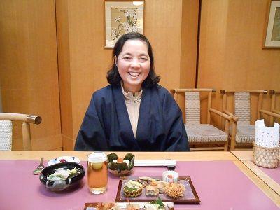 193 夕食のYumiさん