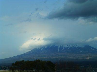 153 車窓からの富士山(三島)