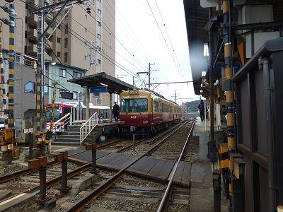 054 京阪石山坂本線・唐橋前駅