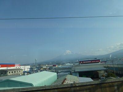 003 車窓からの富士山(新富士附近)