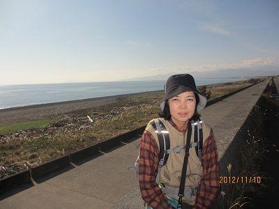 63 千本松原の堤防