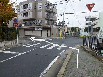 063 分岐(左折)