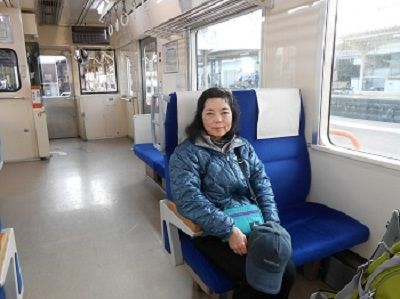07 天浜線・車内
