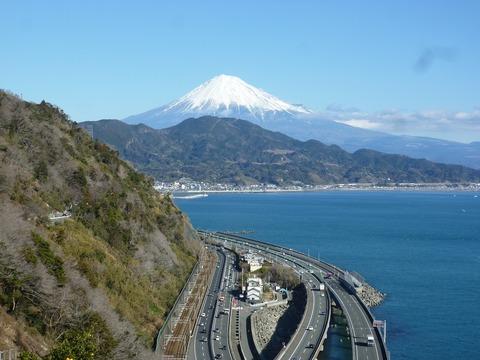 009 展望台デッキからの富士山