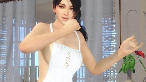 巨乳 裸エプロン DOAXVV