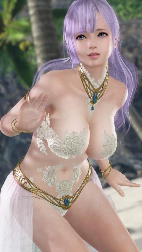 フィオナ 巨乳 おっぱい お姫様 DOAX VV (8)