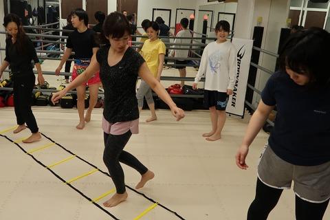 #キックボクシング女子 #レディースクラス #ラダー #トレーニング ♪♪♪