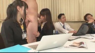 【SOD女子社員】[ユーザー参加][イタズラ・セクハラ]女子社員は絶対にイってはいけないSOD宣伝部企画会議