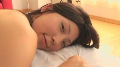 桜木凛 彼女がなかなか起きないのでツンツンぷにぷにしてたら我慢できなくなってモーニングセックスする主観動画