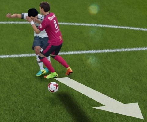 FIFA 18 キャリアモードの試合 メニューの操作_5