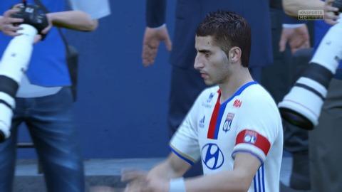 FIFA 17 体験版 キックオフ 0-0 OL V OSA, 前半