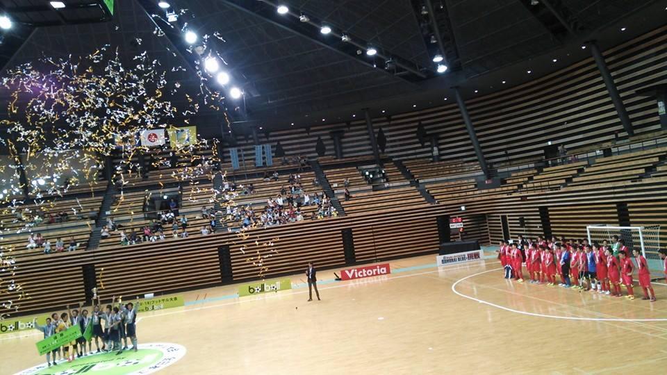Futsal Philosophy (フットサル・フィロソフィー)2014/8/31(日) 第1回全日本ユース(U-18)フットサル大会 決勝戦 大田区総合体育館 『挫折』