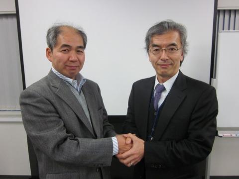 吉田様と頃安社長