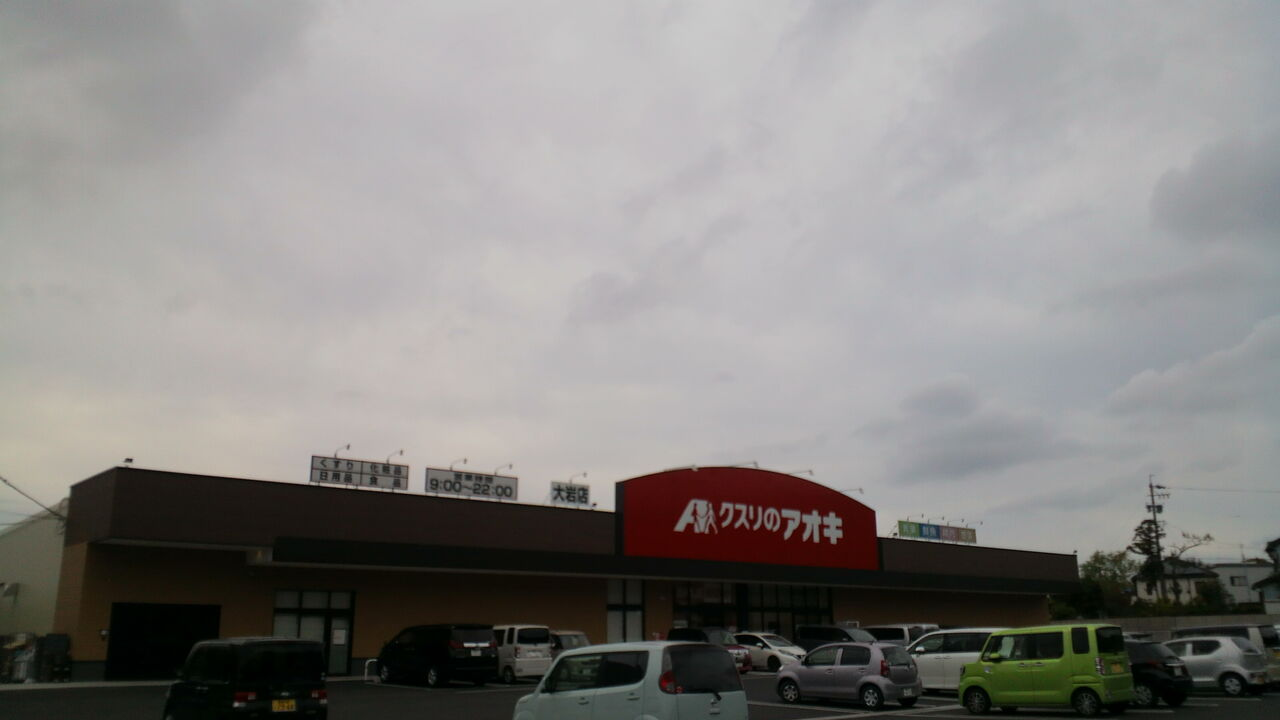 の アオキ 店 クスリ 大岩