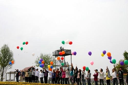 20090416ひまわり風船1