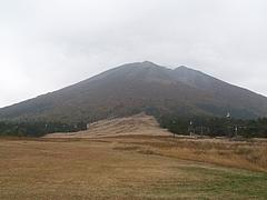 桝水高原からの伯耆大山