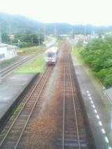萩駅構内東萩方面