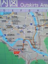 萩駅周辺地図