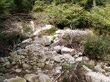 11登山道崩壊