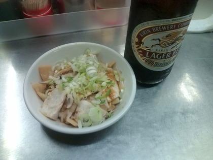 みたかビール+チャーシュー