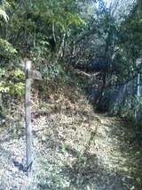 81登山道入り口