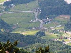32展望所から登山口