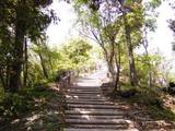 西まわり登山道
