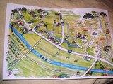 新市付近地図
