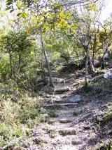 登山道急坂