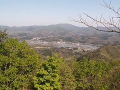 GWの大鬼山からの景色