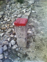 鉄道用地境界標