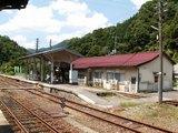 34駅舎と木次線ホーム