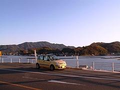 瀬戸内海を望む
