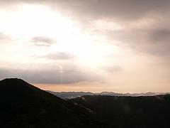 池の段から立烏帽子山・竜王山