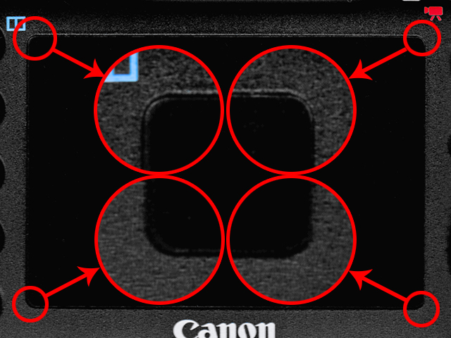 5D4液晶角丸検証
