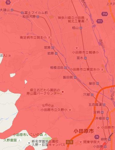 伊豆箱根鉄道大雄山線_電波状況