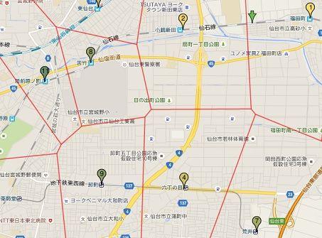 仙台市営地下鉄東西線64