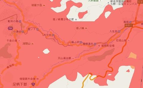 箱根登山鉄道_電波状況