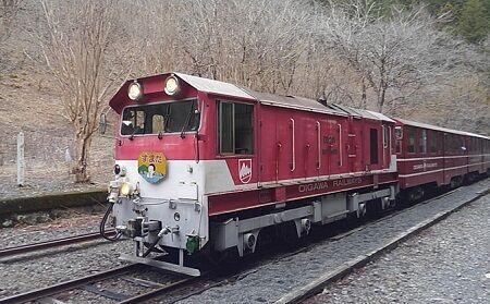 大井川鐵道井川線c55