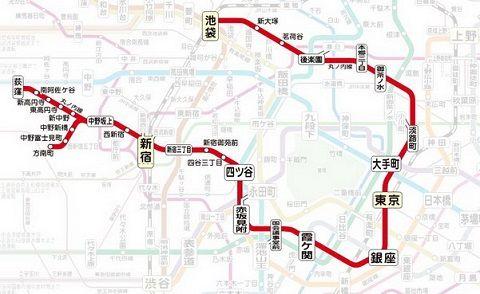 東京メトロ丸の内線97