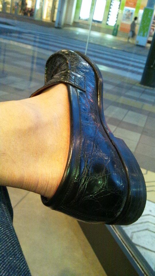 靴下はちゃんと履いています ...