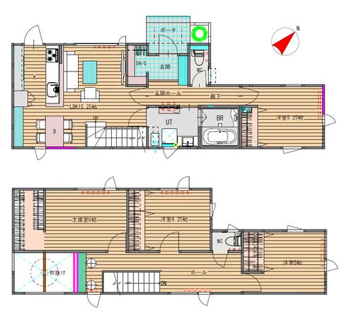 新川西 1、2階