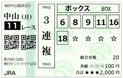 2019-9-16中山11Rセントライト記念-3