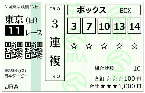 2019-5-26日本ダービー-2