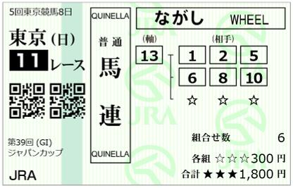 2019-11-24東京11Rジャパンカップ-2