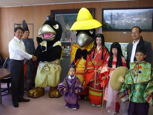 田辺市長さんに会いました